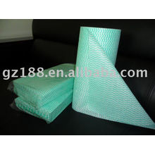 disposable nonwoven wiping cloth rolls 20cm x40cm x 40pcs/roll , each 40cm for perforate